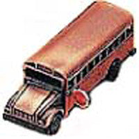 Antique Pencil Sharpener: School bus - DutchNovelties