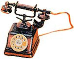 Antique Pencil Sharpener: Antique Telephone - DutchNovelties