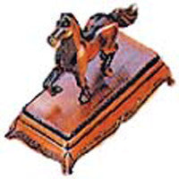 Antique Pencil Sharpener: Horse - DutchNovelties