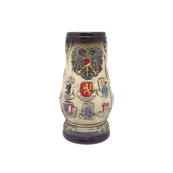 German Ceramic Stein Edelweiss (no Lid)