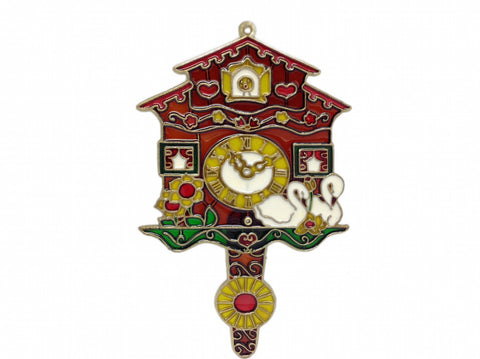German Cuckoo Clock Plastic Sun Catcher - DutchNovelties