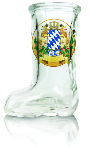 Bayern Crest Beer Boot Shot Glass - DutchNovelties
