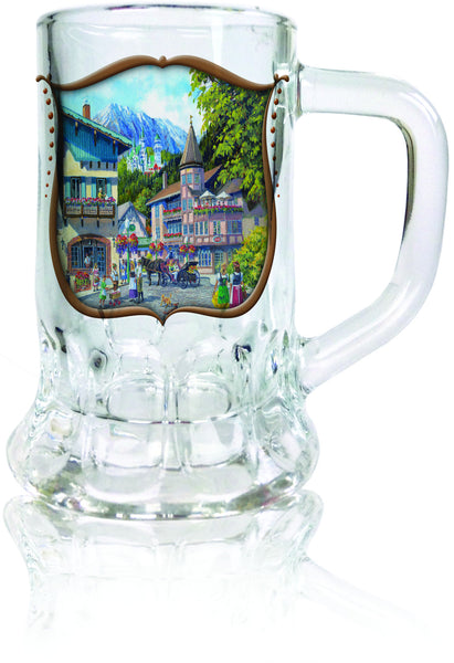 German Souvenir Shot Dimpled Mug: German Summer - DutchNovelties