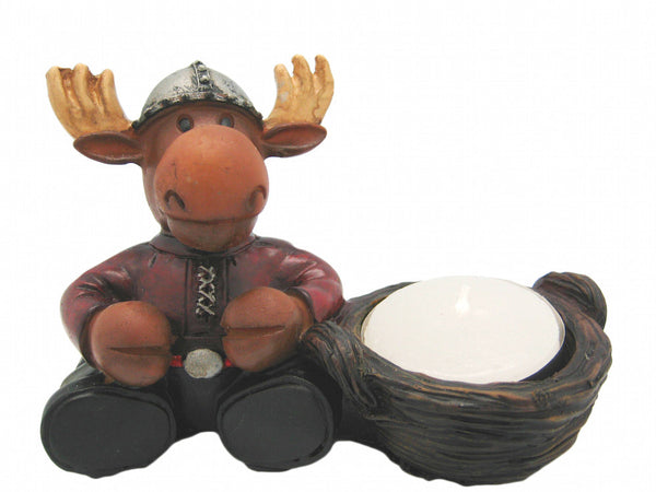 Swedish Moose Candle Votive - DutchNovelties  - 1