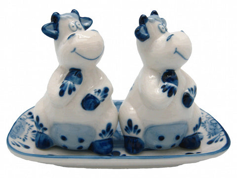 Ceramic Salt and Pepper Sets Happy Cows Gift Idea - DutchNovelties  - 1