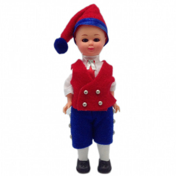 Scandinavian Boy Doll in Finnish Costume - DutchNovelties