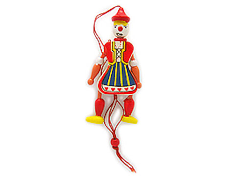 Jumping Jack Toys Norwegian Gift Girl - DutchNovelties  - 1