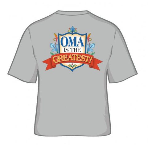"Dutch T Shirt ""Oma Is The Greatest"" - DutchNovelties"