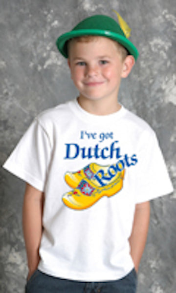 "Dutch Kids Shirts ""Got Dutch Roots"" - DutchNovelties"