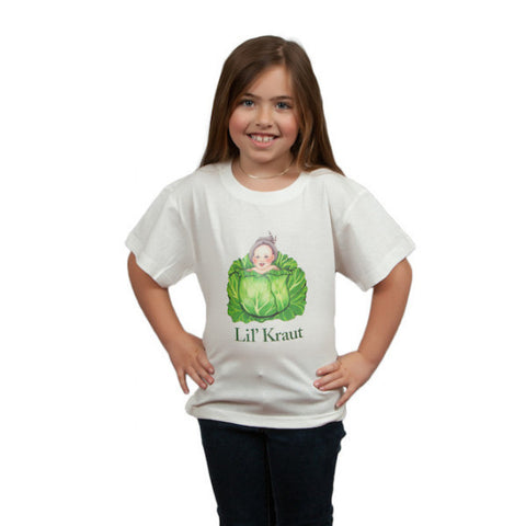 "German Kids Shirt ""Lil Kraut"" - DutchNovelties"