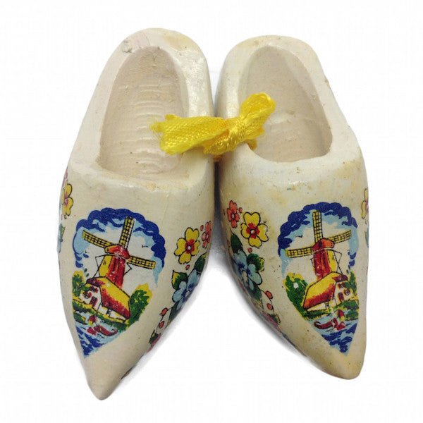 Dutch Gift Idea Wooden Shoes Multi-Colored Clogs - DutchNovelties