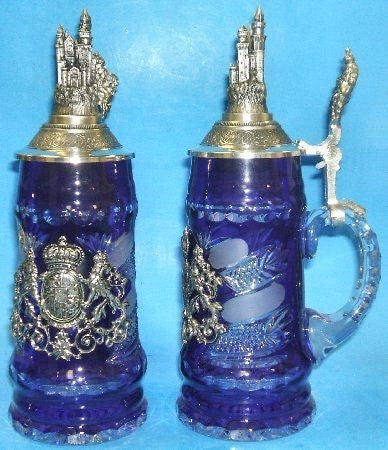 Lord of Crystal Bavaria and Castle Crystal Stein By King-Werks - GermanGiftOutlet.com