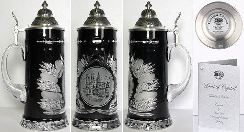 0.5 Liter Lord of Crystal Munich Beer Stein From King-Werks - GermanGiftOutlet.com
