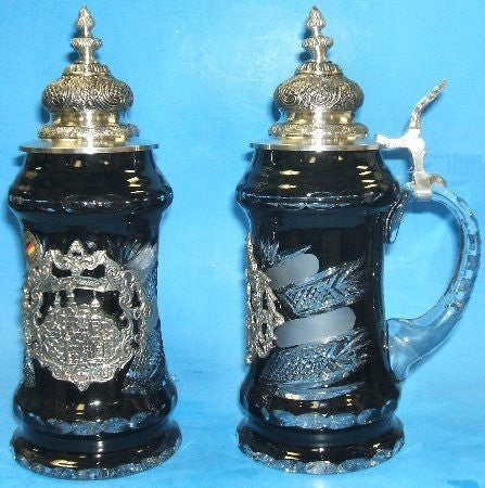 Lord of Crystal Neuschwanstein Castle Crystal Stein From King-Werks - GermanGiftOutlet.com