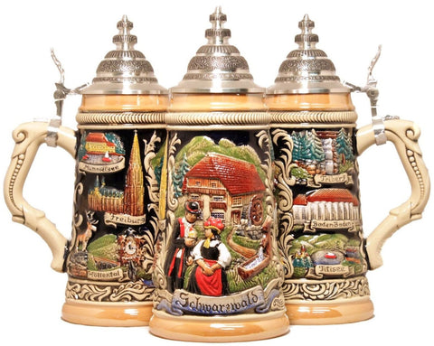 Zoeller & Born German Beer Stein Black Forest Schwarzwald - GermanGiftOutlet.com  - 1
