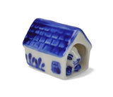 Delft Blue Animal Miniatures Dog House