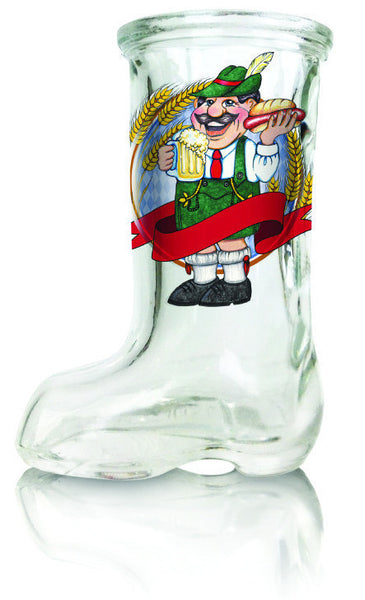 Oktoberfest Man Beer Boot Shot Glass - DutchNovelties