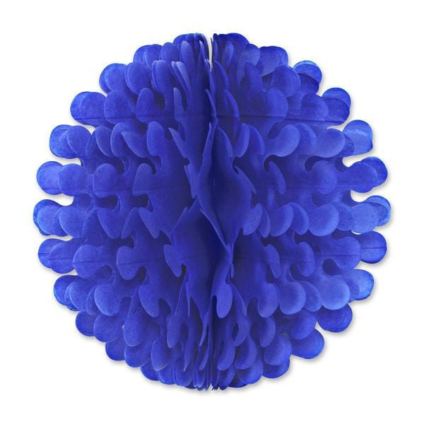 "14"" Blue Tissue Flutter Ball Party Decorations - ScandinavianGiftOutlet"