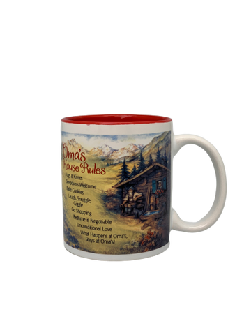 """Oma's House Rules"" Coffee Mug - ScandinavianGiftOutlet"