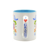 """Grandma is the Greatest"" Gift for Grandma Coffee Mug - 3 Scandinaviangiftoutlet.com"