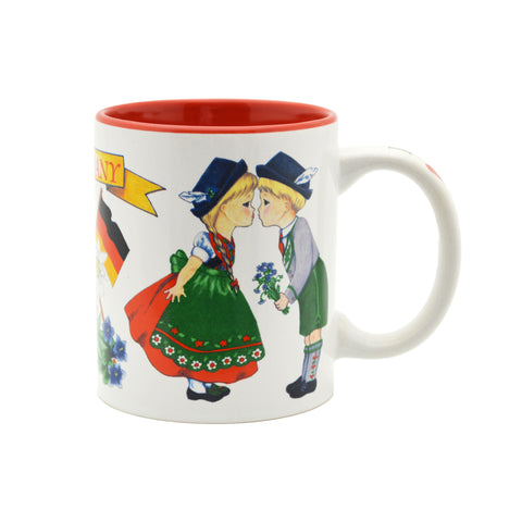"""I Love Germany"" German Gift Idea Mug - 1  - Scandinaviangiftoutlet.com"