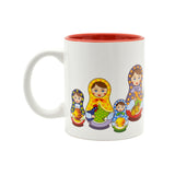 Russian Nesting Doll Ceramic Coffee Mug - 2 - Scandinaviangiftoutlet.com