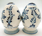 Ceramic Salt and Pepper Shakers: Egg Set - ScandinavianGiftOutlet