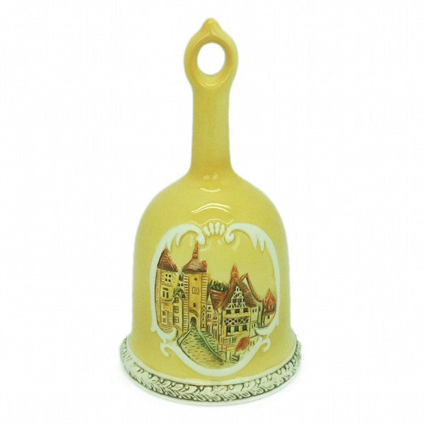 Embossed Rothenburg Germany Bell - ScandinavianGiftOutlet
