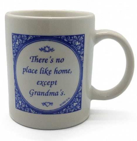 No Place Like Grandma's Ceramic Coffee Mug - ScandinavianGiftOutlet  - 1