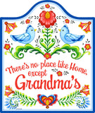 No Place Like Home Except Grandma's Wall Trivet - ScandinavianGiftOutlet