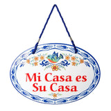 """Mi Casa Es Su Casa""  Welcome Door Sign - ScandinavianGiftOutlet"