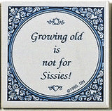 Inspirational Wall Plaque: Growing Old Not.. - ScandinavianGiftOutlet  - 1