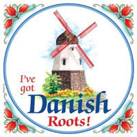 Kitchen Wall Plaques: Danish Roots - ScandinavianGiftOutlet  - 1