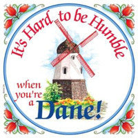 Kitchen Wall Plaques: Humble Dane - ScandinavianGiftOutlet