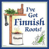 Kitchen Wall Plaques: Finnish Roots - ScandinavianGiftOutlet  - 1