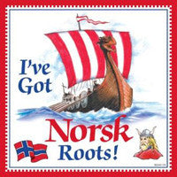 Kitchen Wall Plaques: Norsk Roots - ScandinavianGiftOutlet