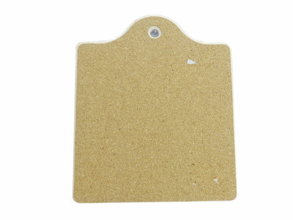 Dutch: Ceramic Cheeseboard w/ Cork Backing - ScandinavianGiftOutlet