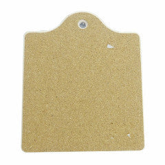 Ceramic Cheeseboard w/ Cork Backing: Grouchy - ScandinavianGiftOutlet