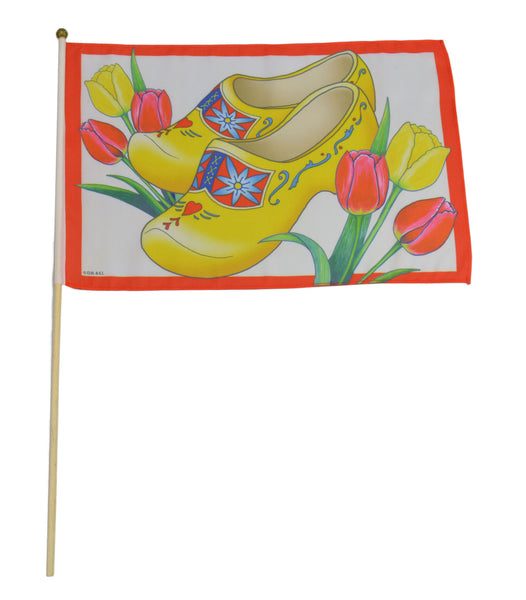 Wooden Shoes Flag - ScandinavianGiftOutlet