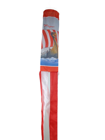 Norway Wind Sock: Viking Ship - ScandinavianGiftOutlet