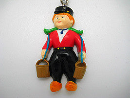 Dutch Souvenir Dutch Boy/Buckets Keychain - ScandinavianGiftOutlet  - 1