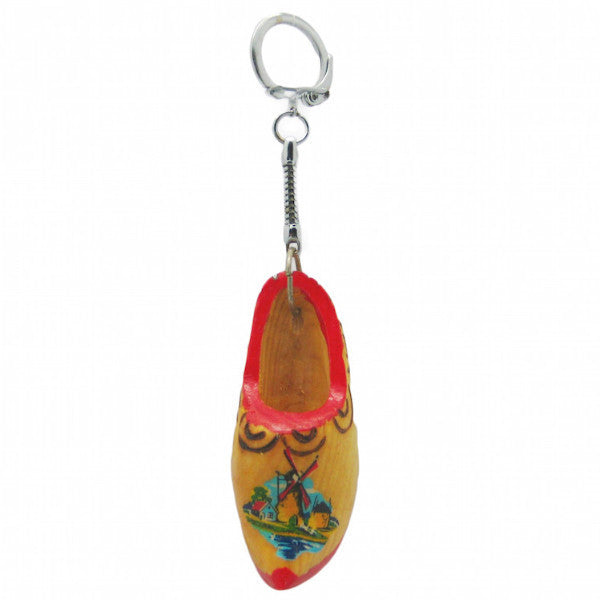 Dutch Souvenir Single Clog Keychain - ScandinavianGiftOutlet