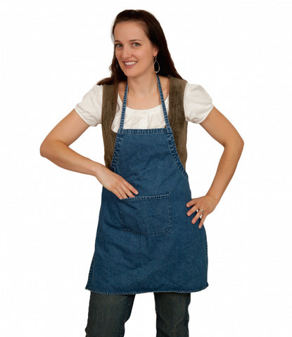 Blank Denim BBQ Kitchen Apron - ScandinavianGiftOutlet  - 1