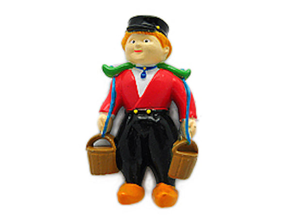 Magnet Gifts Dutch Boy with Buckets - ScandinavianGiftOutlet