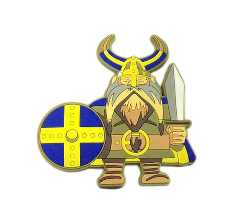 Cute Collectible Norwegian Viking Fridge Magnet - ScandinavianGiftOutlet