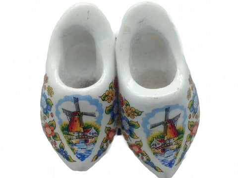 Wooden Shoes Magnetic Gift Multi Color - ScandinavianGiftOutlet  - 2