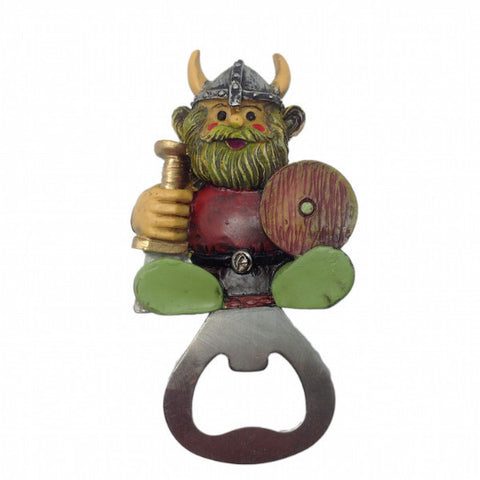 Norwegian Viking Fridge Magnet Bottle Opener - ScandinavianGiftOutlet