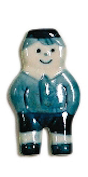 Delft Blue Boy Kitchen Magnet - ScandinavianGiftOutlet