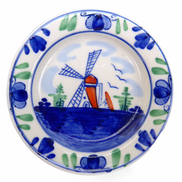 Magnetic Ceramic Windmill Plate Color - ScandinavianGiftOutlet  - 2