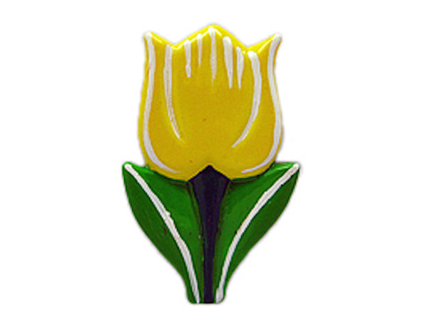 Tulips Gifts Fridge Magnet Yellow - ScandinavianGiftOutlet  - 1